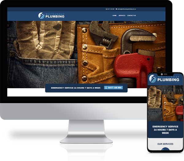 Whitsunday Plumbing Website Design