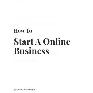 5 step guide to help you start your online business