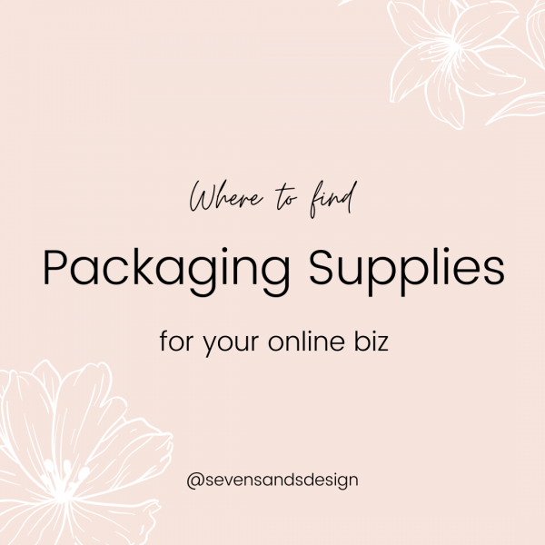 packaging supplies for ecommerce business